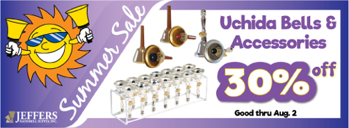 2020 Summer Sale - Uchida Bells WRONG SIZE