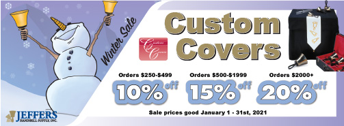 Custom Covers - January 2021 Sale