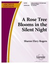 Rose Tree Blooms in the Silent Night