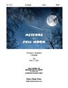 Meteors and Full Moon
