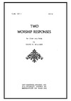 Two Worship Responses