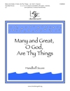 Many and Great O God Are Thy Things