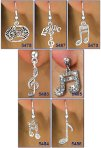 Musical Motif Earrings