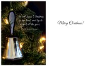 Handbell Ornament Cards