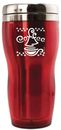 Coffee Red Thermal Travel Mug
