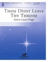Thou Didst Leave Thy Throne