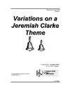 Variations on a Jeremiah Clarke Theme