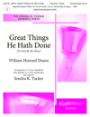 Great Things He Hath Done