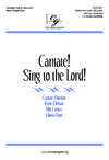 Cantate Sing to the Lord