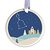 Ringing with the Stars Ceramic Ornament