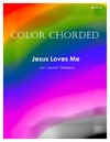 Color Chorded Jesus Loves Me
