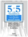 Five by Five for Weddings