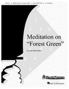 Meditation on Forest Green