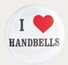 I Love Handbells Button