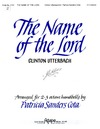Name of the Lord, The